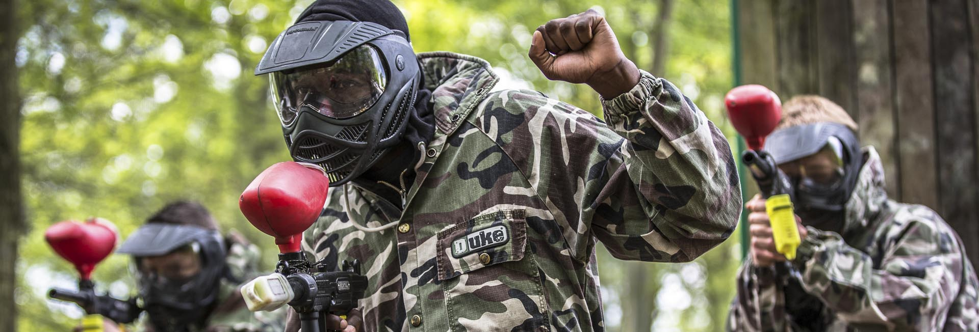 Ultragame Paintball Lasergame - Team building