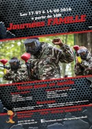 Paintball-Lasergame en famille